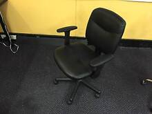 Leather Office Chairs - Good Condition Parramatta Park Cairns City Preview