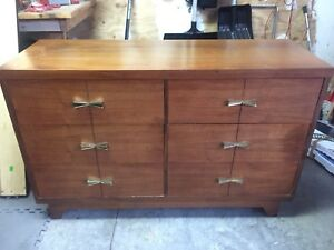 Quality 6 drawer dresser made in Canada solid wood
