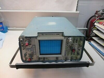 Tektronix455oscilliscopedual Chbeing Sold For Parts Or Repair No Return
