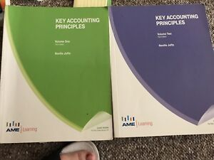 Accounting textbooks with calculators