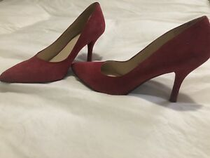 Nine West 8.5 red shoes