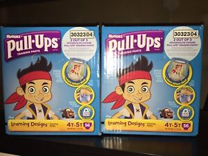 Huggies Pull-Ups Training Pants, 4T-5T, New!