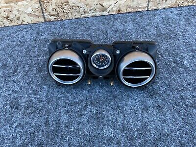 BENTLEY CONTINENTAL GT DASHBOARD CENTER AC VENT WITH CLOCK OEM  (04-10)