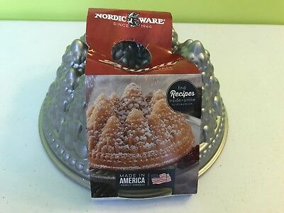 - Nordic Ware Pine Forest Bundt Pan *NEW* Free Shipping!!!!!!