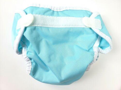 Thirsties Cloth Diaper Cover- Hook & Loop - Aqua - XS X-Small NWOT