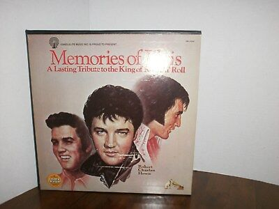 Memories of ELVIS Presley-A Lasting Tribute 5 LP Record Box Set-Vinal MINT Cond