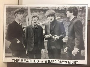 The Beatles solid poster