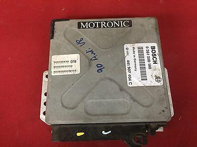 PROGRAMMED PLUG & PLAY 90 AUDI V8 QUATTRO ENGINE ECU ECM 0261200198 441907404C