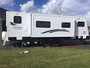 Jayco Sterling Outback Caravan-25ft-Large Slide-Out Bed/Lounge Tuncurry Great Lakes Area Preview