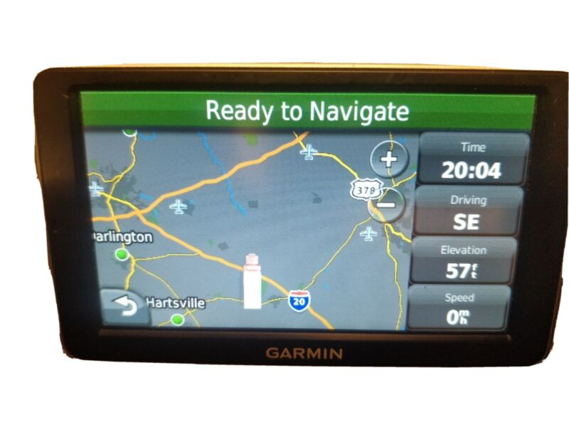 """GARMIN DEZL 2460   5"""" LM TRUCK GPS LIFETIME MAPS AND TRAFFIC EXCELLENT"""