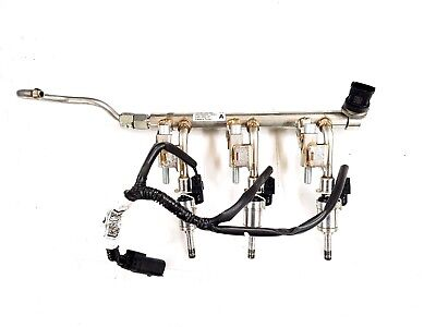 GENUINE FORD 1.0 ECOBOOST FUEL RAIL WITH INJECTORS AND WIRING LOOM