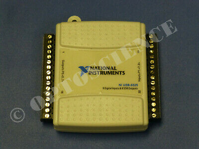 National Instruments Usb-6525 Digital Io Relay Card Ni Daq 8ch Ssr 8ch Di