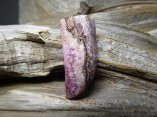 Pink Gemstone Cabochon Coboltoan Calcite NaturalCrystal Jewelry Pendant or Bead
