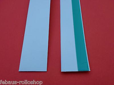Abdeckleiste Flachleiste 6m  20-100mm- 3mm Kunststoffleiste Fensterleisten weiss