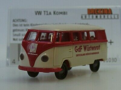 Usado, Brekina VW T1 Kombi Bausparkasse WÜSTENROT - 31030 - 1:87 comprar usado  Enviando para Brazil