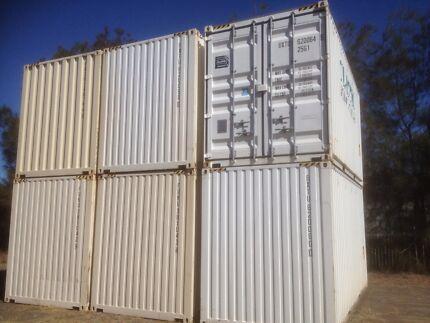 20ft shipping container storage parking  Bundaberg Central Bundaberg City Preview