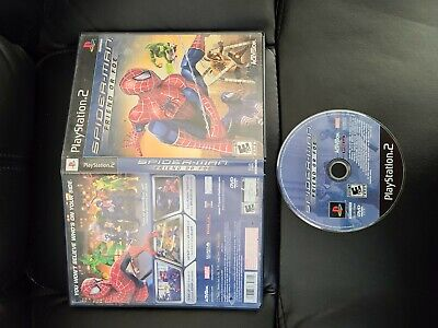 Spider-Man Friend Or Foe GH (Sony Playstation 2 ps2) FAST FREE SHIPPING
