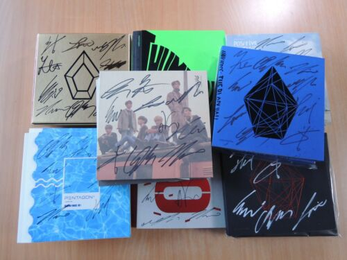 PENTAGON OLD (Promo) with Autographed (Signed) 2