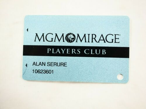 MGM-Mirage Resorts and Casino Las Vegas Players Club Card