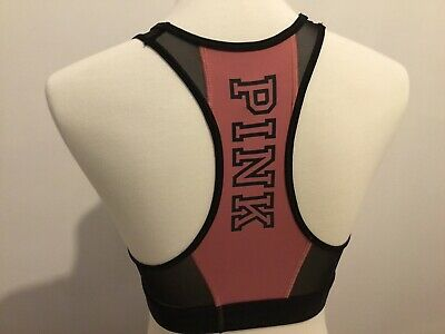 PINK Victoria Secret PINK CROP Sports Bra size Medium