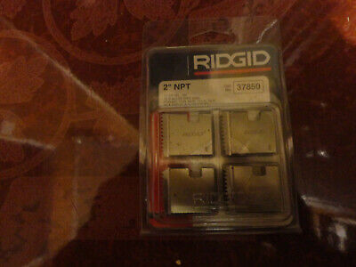 Ridgid 37850 2 Npt 12-r Pipe Threading Dies O-r 11-r 111-r 30-a 31-a 00-r New