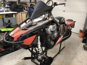 2012 Polaris Pro Rmk 600 155