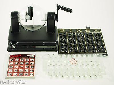 Bingo Tombola Loto Lotto Games Set Cage Cards Balls Board - 5.5