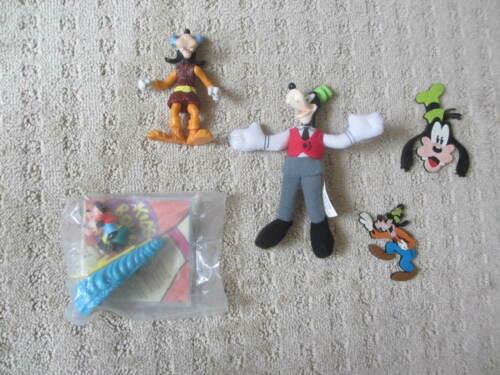 LOT OF 5  Assorted Walt Disney Goofy Collectibles