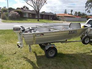 Runabout dinghy with 5 hp mercury Maddington Gosnells Area Preview