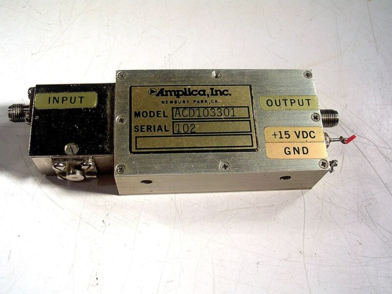 Amplica Microwave RF Amplifier ACD103301