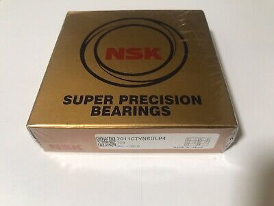 New Nsk 7011ctynsulp4 Super Precision Spindle Bearings