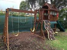 Cubby House, Swing Set, Climbing Frame and slide combination Blaxland Blue Mountains Preview