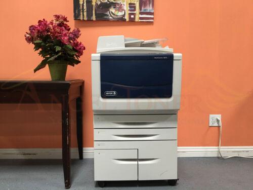 Xerox Workcentre 5875 Mfp Black & White Laser Copier Printer Scanner A3