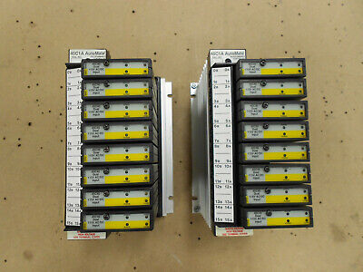 Lot Of 2 Reliance Electric Automate 45c1a Io Rail Controllers W8 45c40 Dual