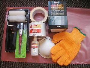 paint bath Quick Dry Enamel  Kit set Bath  Tubs Tiles Renovation Bathtubs 500ml