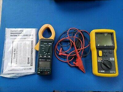 Aemc 1040 Digitalanalog Megohmmeter Digital And Greenlee Cmi-100 Acdc Clamp