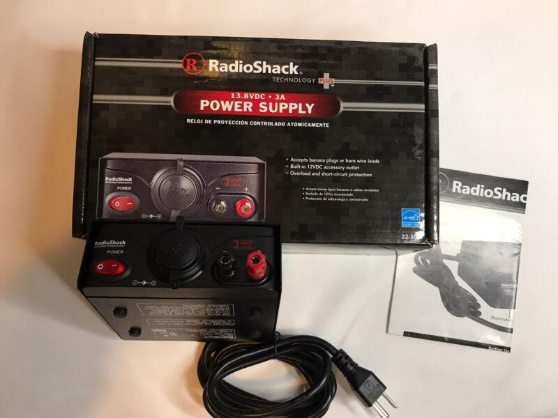 RadioShack Switching Power Supply 3 AMP 13.8VDC