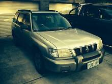 2000 Subaru Forester MY00 Limited Silver 5 Speed Manual Wagon Hackett North Canberra Preview