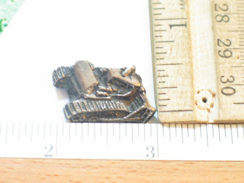 Bulldozer Pin Badge
