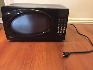 Small black Microwave