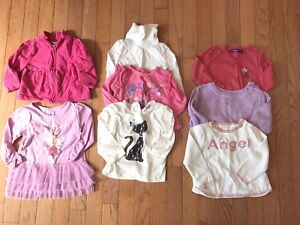 6-12 months fall winter girls clothing