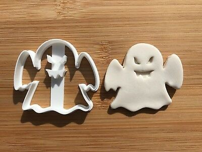 Halloween Uk Seller Plastic Biscuit Cookie Cutter Fondant Cake Decor Ghost