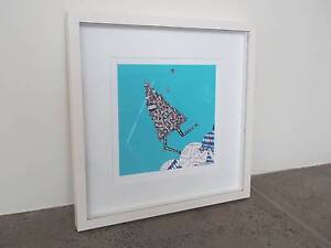 Framed original art print by Kill Pixie St Peters Marrickville Area Preview