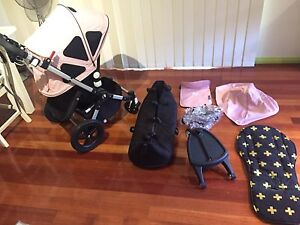 Bugaboo Cameleon Pram & Bassinet with all the extras Gymea Sutherland Area Preview