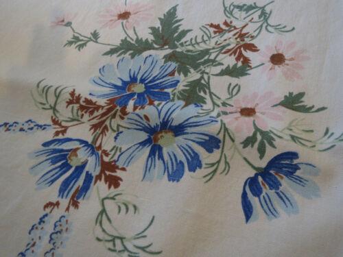 Vintage 1950s Tablecloth California Print