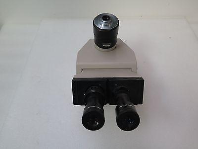 Olympus Ergonomic Trinocular Microscope Head U-pmtvc W 10x Eyepieces