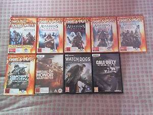 CHEAP !!!! Used PC COMPUTER Games and BRAND NEW NEVER USED Melbourne CBD Melbourne City Preview