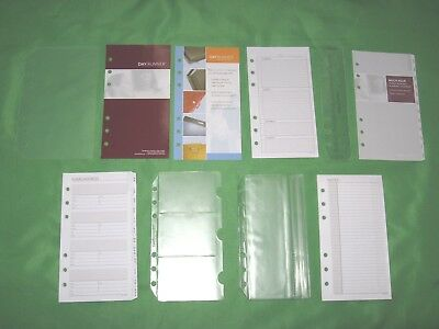 Compact 1 Year Undated Refill Lot Day Runner Planner Page Franklin Covey