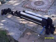 genuine THULE gutter mounted roof racks with ski racks Templestowe Manningham Area Preview