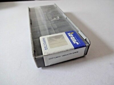 Lot Of 10 Iscar Htp Lnht 1606-etr Ic928 Carbide Inserts
